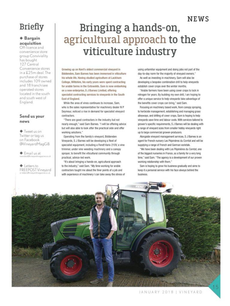 Vineyard Magazine JAN18